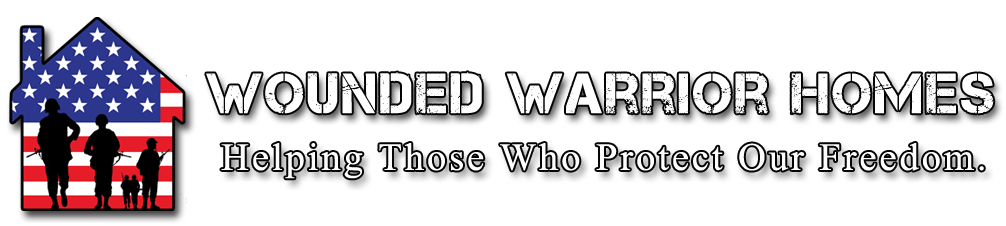 Wounded Warrior Homes Logo With Tagline