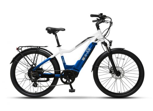 e-JOE ONYX Sports Commuter White Blue