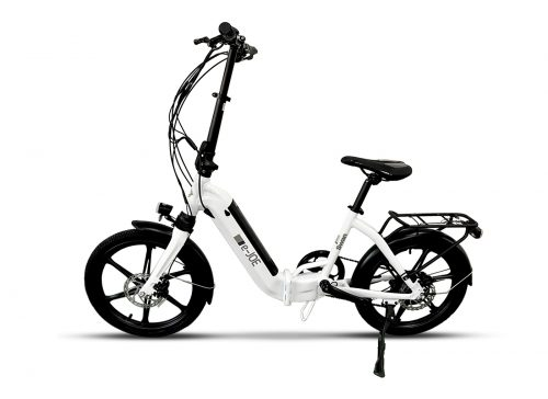 e-JOE EPIK Swan Folding E-Bike White Color
